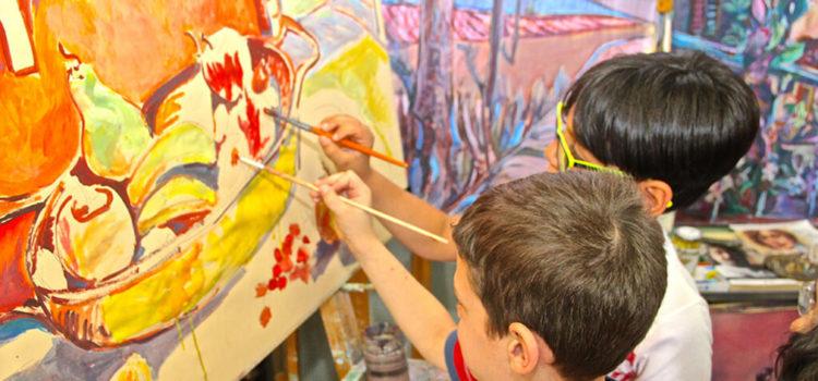 Corso di disegno e pittura per bambini